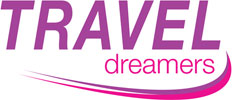 Traveldreamers Travel and Cruise Logo